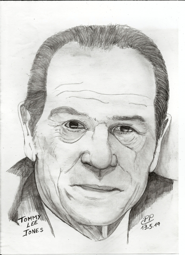 Tommy Lee Jones by Patoux